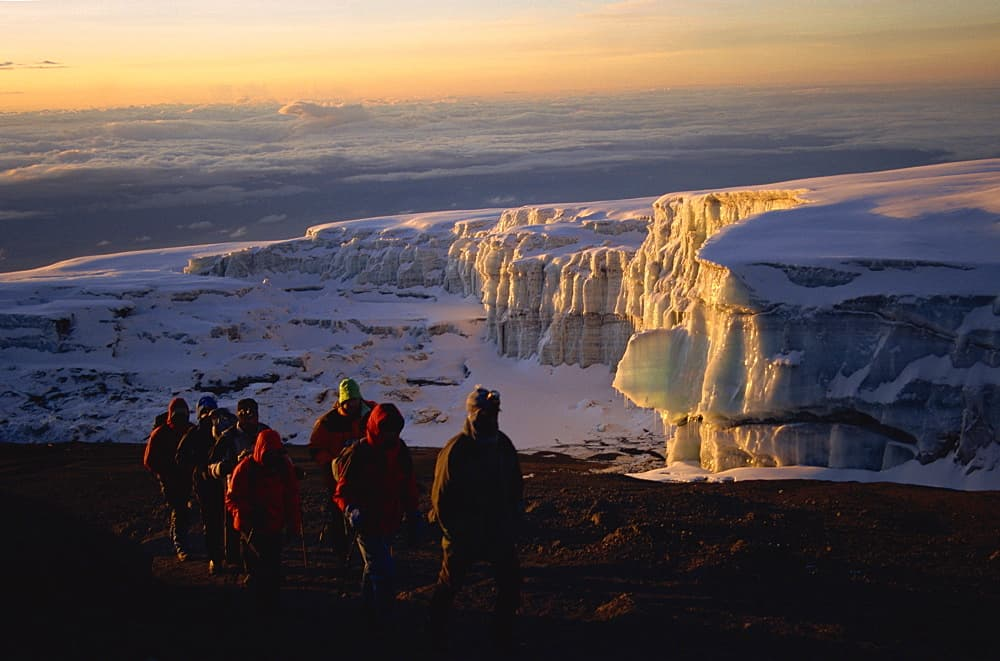 Uhuru Peak at dawn